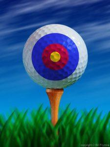 golf-ball-target-bullseye-tee-blue-sky